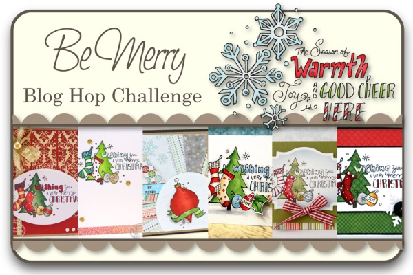 Be Merry Blog Hop Challenge
